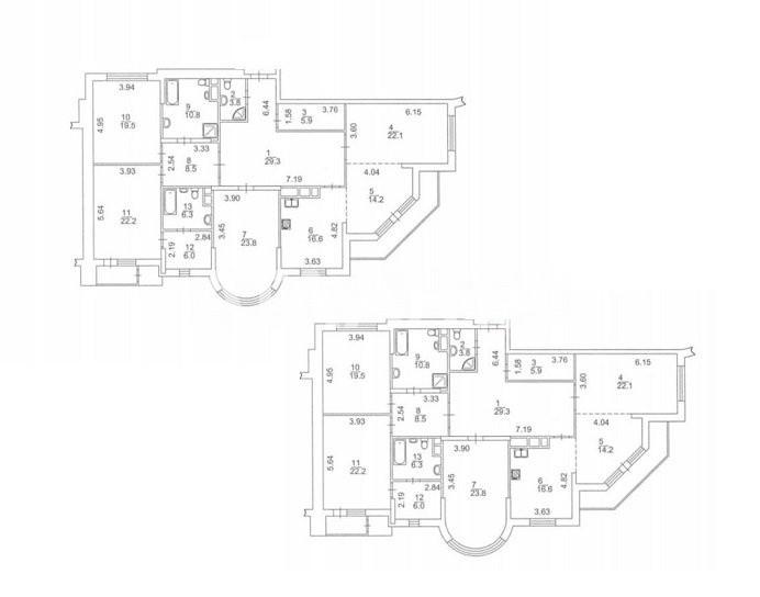 Продается 7-комнатная Квартира на ул. Бульв. Шевченко — 850 000 у.е. (фото №6)