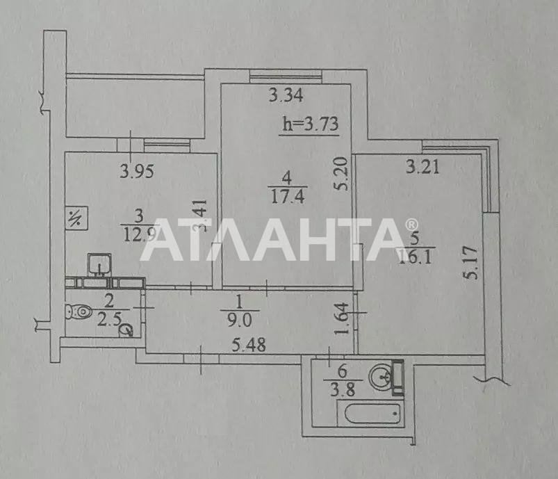 Продается 2-комнатная Квартира на ул. Ясиноватский Пер. — 57 000 у.е. (фото №19)