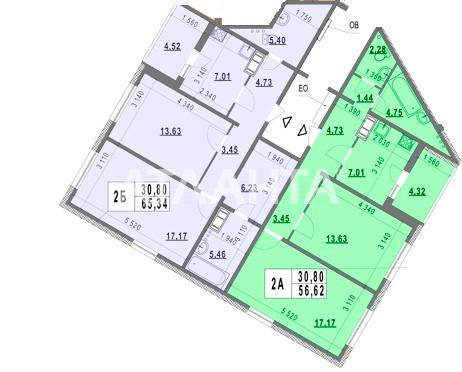 Продается 2-комнатная Квартира на ул. Ул. Ломоносова — 51 000 у.е.