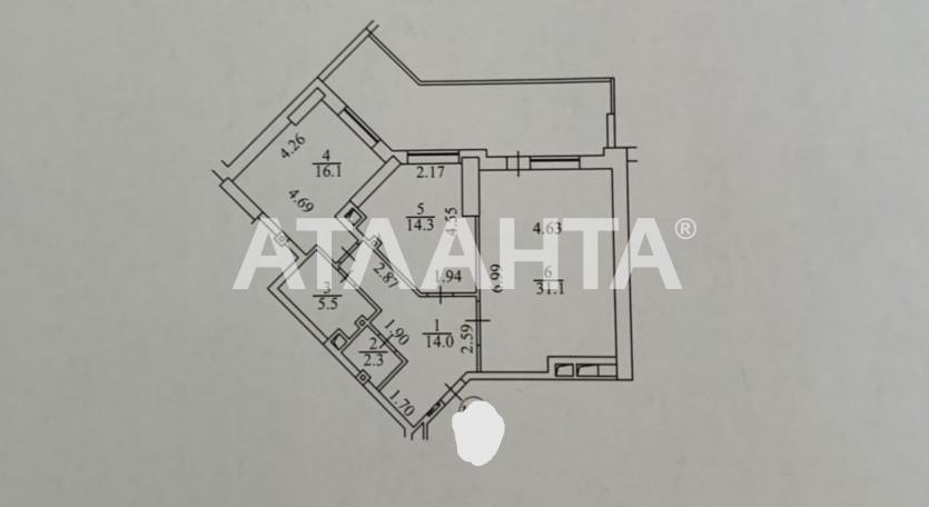 Сдается 2-комнатная Квартира на ул. Ул. Ревуцкого — 0 у.е./сут. (фото №10)