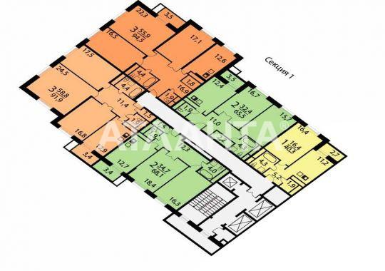 Продается 1-комнатная Квартира на ул. Лобачевского Пер. — 40 000 у.е. (фото №11)