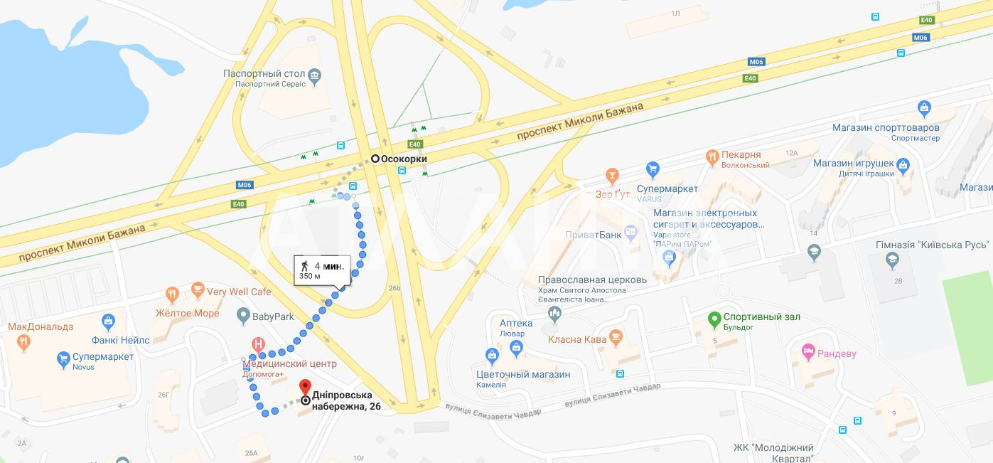 Продается 2-комнатная Квартира на ул. Днепровская Набережная — 150 000 у.е. (фото №15)