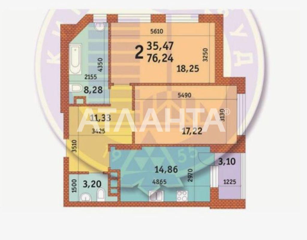 Продается 2-комнатная Квартира на ул. Ул. Иоанна Павла Іі — 127 000 у.е. (фото №8)