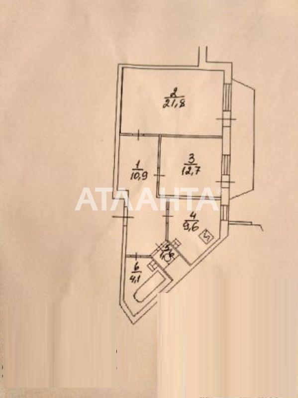 Продается 2-комнатная Квартира на ул. Ул. Бальзака — 53 000 у.е. (фото №7)