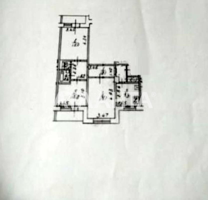 Продается 3-комнатная Квартира на ул. Ул. Бальзака — 45 000 у.е. (фото №8)