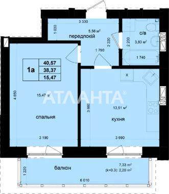 Продается 1-комнатная Квартира на ул. Ул. Метрологическая — 55 000 у.е. (фото №23)