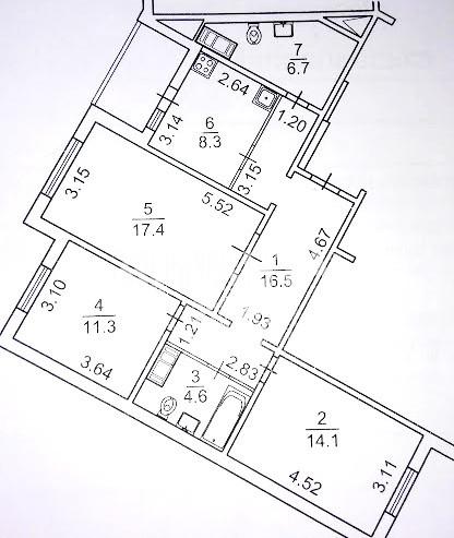 Продается 3-комнатная Квартира на ул. Конева — 65 500 у.е. (фото №24)