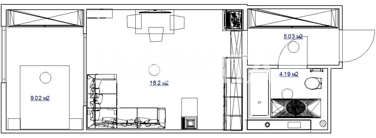 Продается 1-комнатная Квартира на ул. Ул. Максимовича — 64 000 у.е. (фото №12)