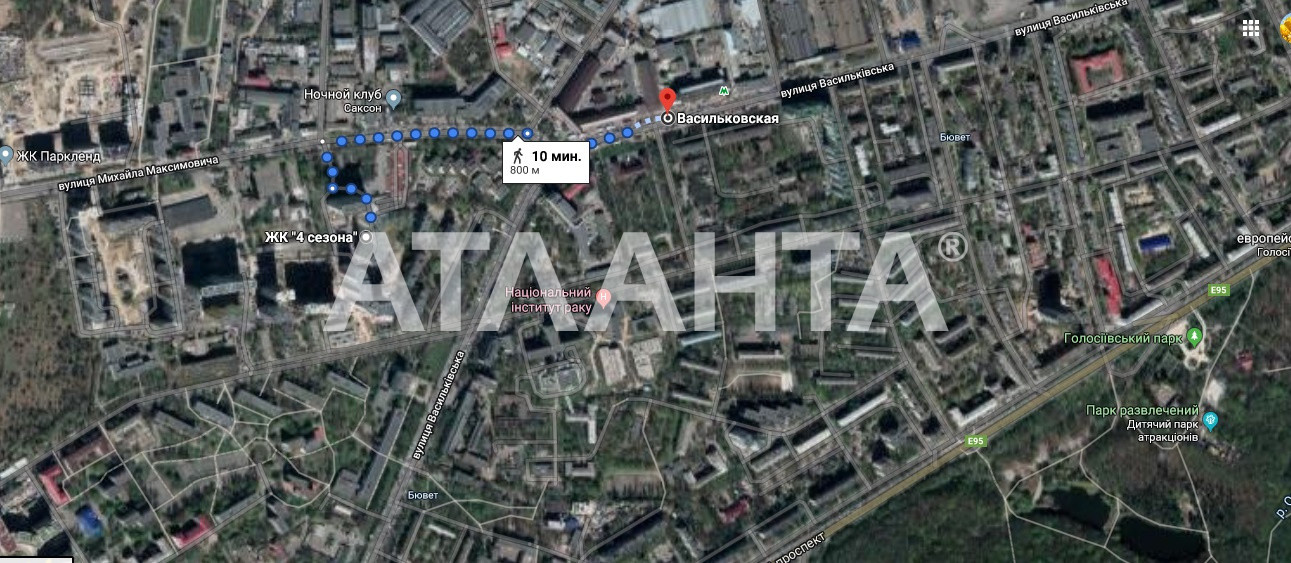 Продается 1-комнатная Квартира на ул. Ул. Максимовича — 57 000 у.е. (фото №2)