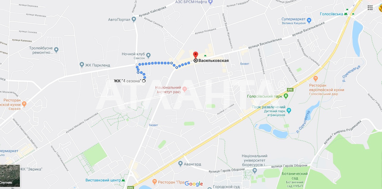 Продается 1-комнатная Квартира на ул. Ул. Максимовича — 57 000 у.е. (фото №3)