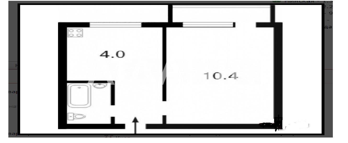 Продается 1-комнатная Квартира на ул. Ул. Богатырская — 33 000 у.е. (фото №15)