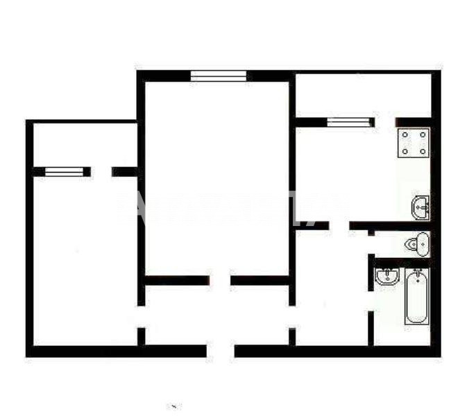 Продается 2-комнатная Квартира на ул. Ул. Бальзака — 38 000 у.е. (фото №13)