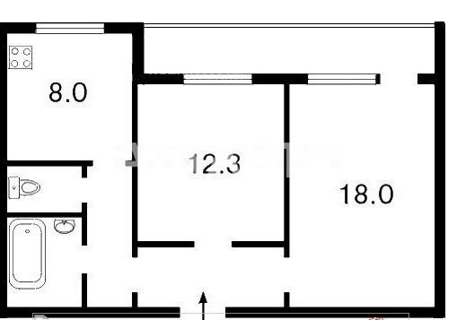 Продается 2-комнатная Квартира на ул. Ул. Петра Панча — 55 000 у.е. (фото №13)