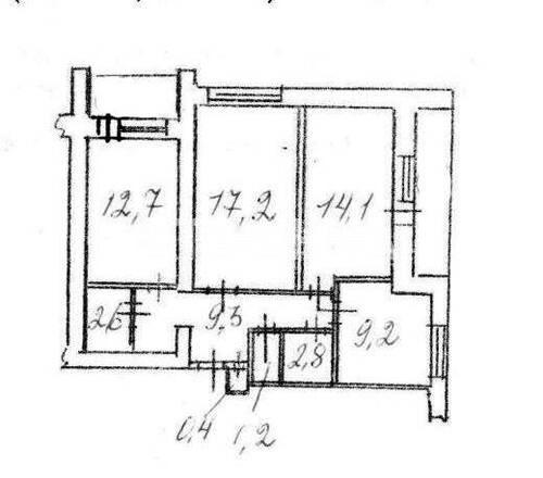 Продается 3-комнатная Квартира на ул. Просп. Лобановского — 55 000 у.е. (фото №15)