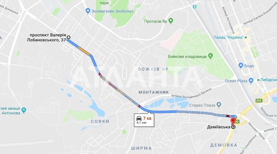 Продается 3-комнатная Квартира на ул. Просп. Лобановского — 74 500 у.е. (фото №4)