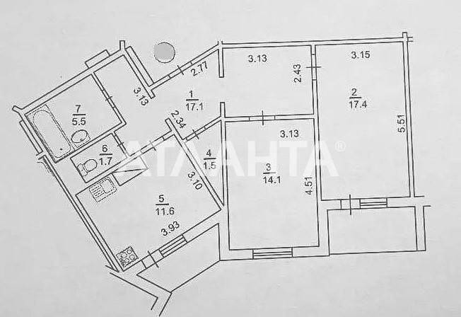 Продается 2-комнатная Квартира на ул. Ул. Урловская — 77 000 у.е. (фото №7)