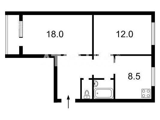 Продается 2-комнатная Квартира на ул. Ул. Иорданская — 60 000 у.е. (фото №13)