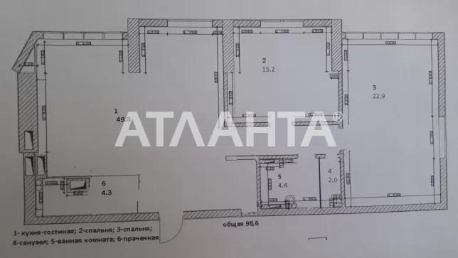 Продается 3-комнатная Квартира на ул. Просп. Глушкова — 160 000 у.е. (фото №29)