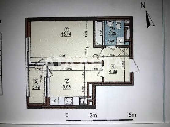 Продается 1-комнатная Квартира на ул. Просп. Правды — 36 600 у.е.
