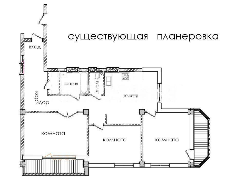 Продается 3-комнатная Квартира на ул. Ул. Соляная — 115 000 у.е. (фото №8)