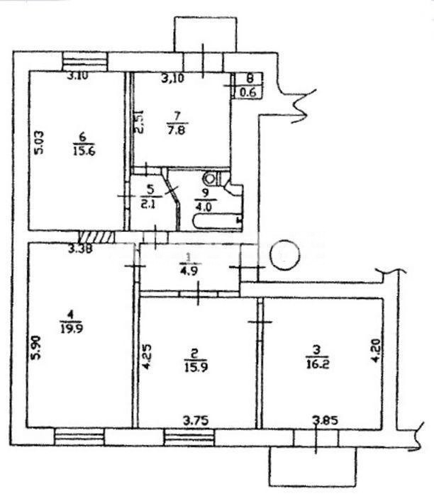 Продается 4-комнатная Квартира на ул. Бульв. Шевченко — 106 000 у.е. (фото №10)