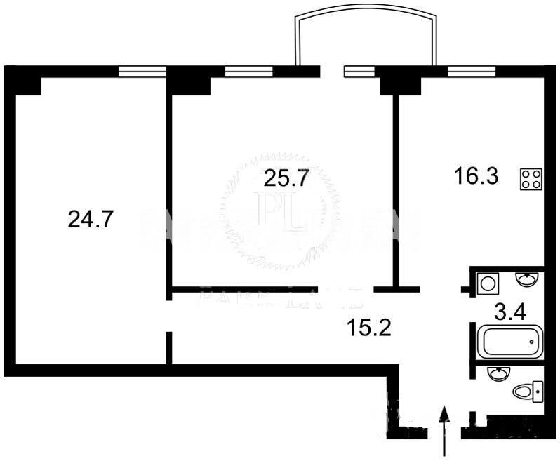 Продается 2-комнатная Квартира на ул. Ул. Златоустовская — 145 000 у.е. (фото №13)