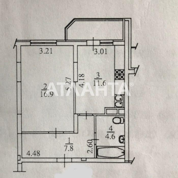 Продается 1-комнатная Квартира на ул. Ул. Ломоносова — 67 000 у.е. (фото №6)