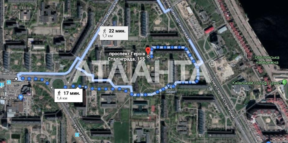 Продается 2-комнатная Квартира на ул. Просп. Героев Сталинграда — 62 000 у.е. (фото №11)