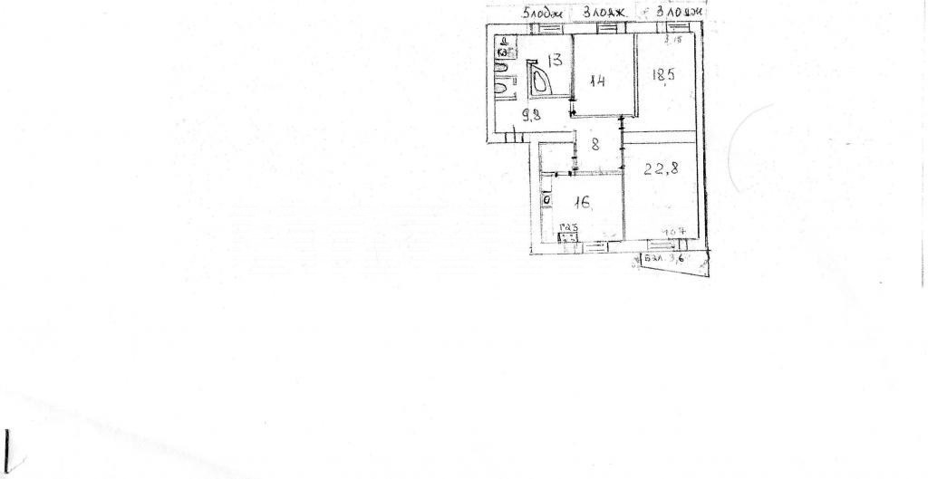 Продается 3-комнатная Квартира на ул. Ул. Гоголевская — 134 000 у.е. (фото №7)