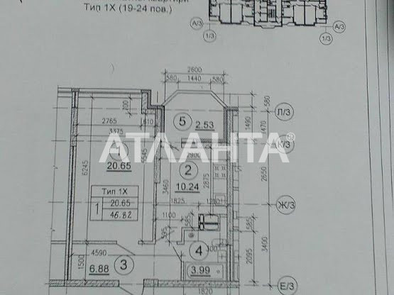 Продается 1-комнатная Квартира на ул. Ул. Ломоносова — 42 000 у.е. (фото №2)