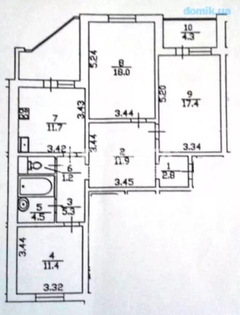 Продается 3-комнатная Квартира на ул. Ул. Ломоносова — 85 000 у.е. (фото №13)