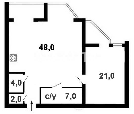 Сдается 2-комнатная Квартира на ул. Ул. Ломоносова — 0 у.е./сут. (фото №17)
