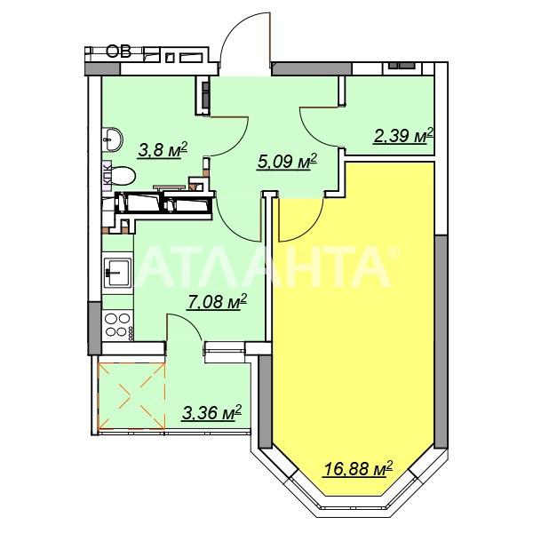 Продается 1-комнатная Квартира на ул. Ул. Максимовича — 42 000 у.е.