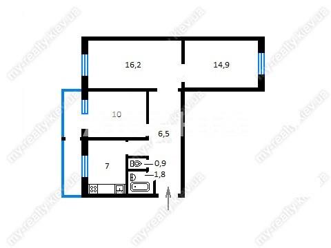 Продается 3-комнатная Квартира на ул. Ул. Васильковкая — 52 000 у.е.