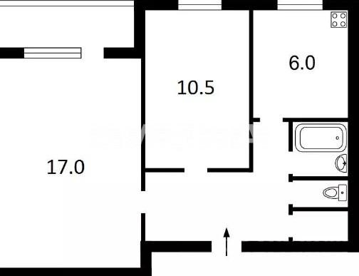 Продается 2-комнатная Квартира на ул. Просп. Героев Сталинграда — 48 000 у.е. (фото №12)