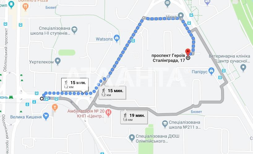 Продается 2-комнатная Квартира на ул. Просп. Героев Сталинграда — 48 000 у.е. (фото №15)