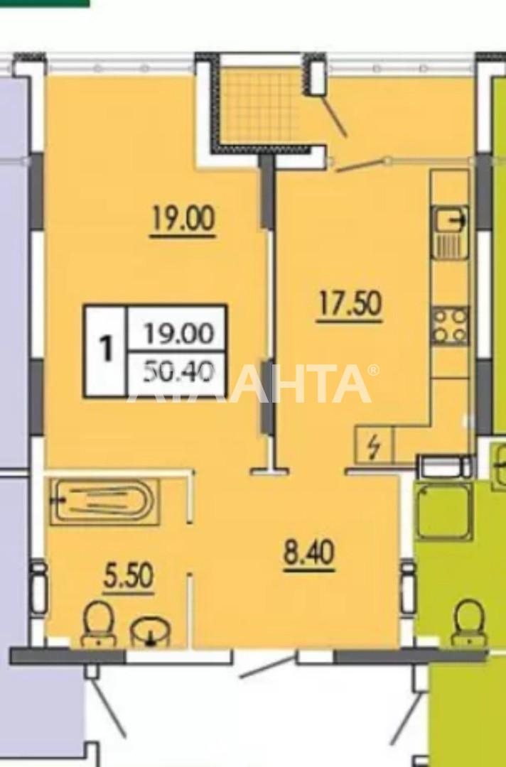 Продается 1-комнатная Квартира на ул. Конева — 103 000 у.е. (фото №2)