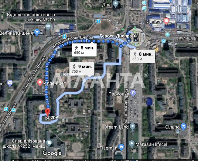Продается 3-комнатная Квартира на ул. Ул. Героев Днепра — 53 500 у.е. (фото №14)