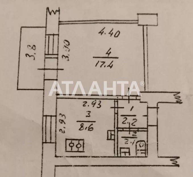 Продается 1-комнатная Квартира на ул. Ул. Васильковкая — 39 300 у.е. (фото №4)