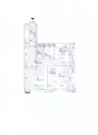 Продается 2-комнатная Квартира на ул. Ул. Максимовича — 65 000 у.е. (фото №3)