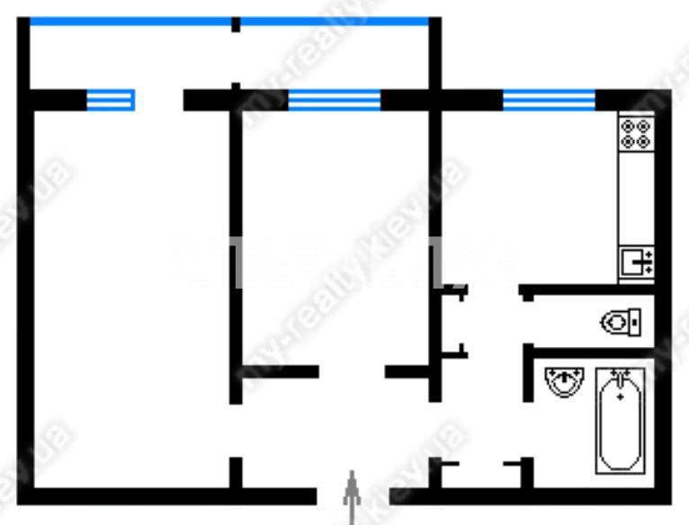 Продается 2-комнатная Квартира на ул. Василия Касияна — 55 000 у.е.