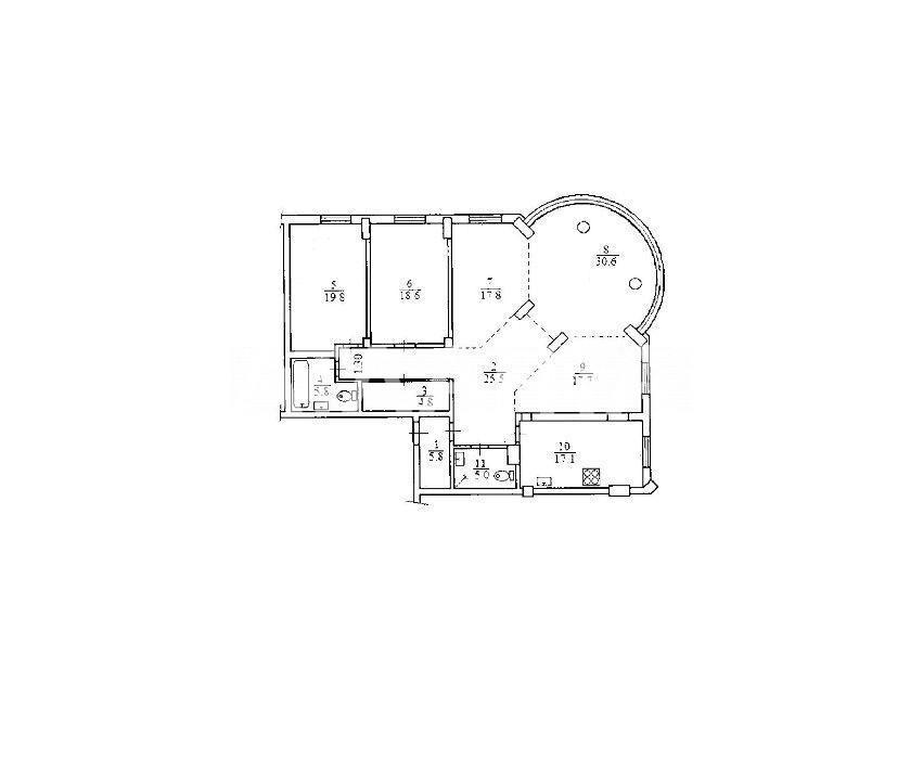 Продается 5-комнатная Квартира на ул. Ул. Дмитриевская — 250 000 у.е. (фото №6)