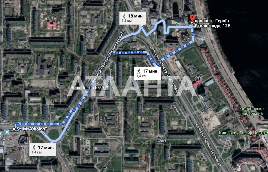 Продается 3-комнатная Квартира на ул. Просп. Героев Сталинграда — 280 000 у.е. (фото №9)