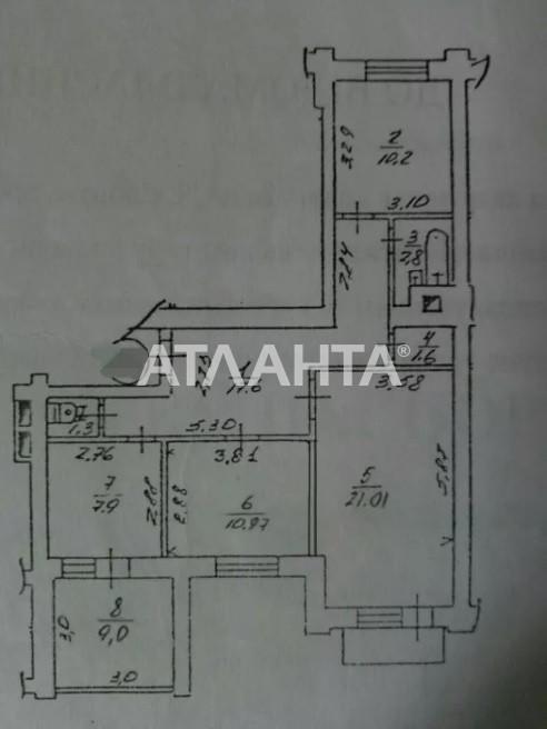 Продается 4-комнатная Квартира на ул. Ул. Олевская — 72 000 у.е. (фото №9)