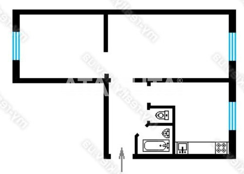 Продается 2-комнатная Квартира на ул. Ул. Сеченова — 49 000 у.е.