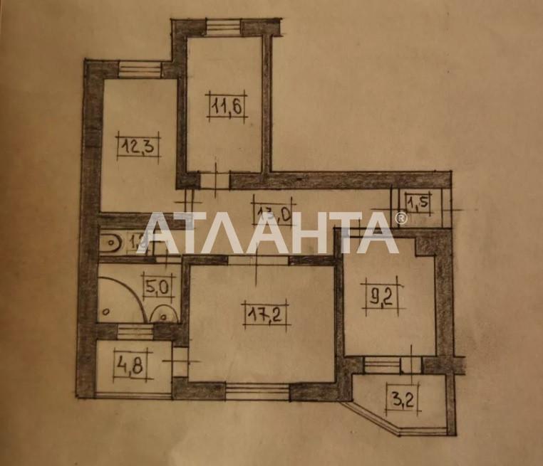 Продается 3-комнатная Квартира на ул. Просп. Леся Курбаса — 60 000 у.е. (фото №8)