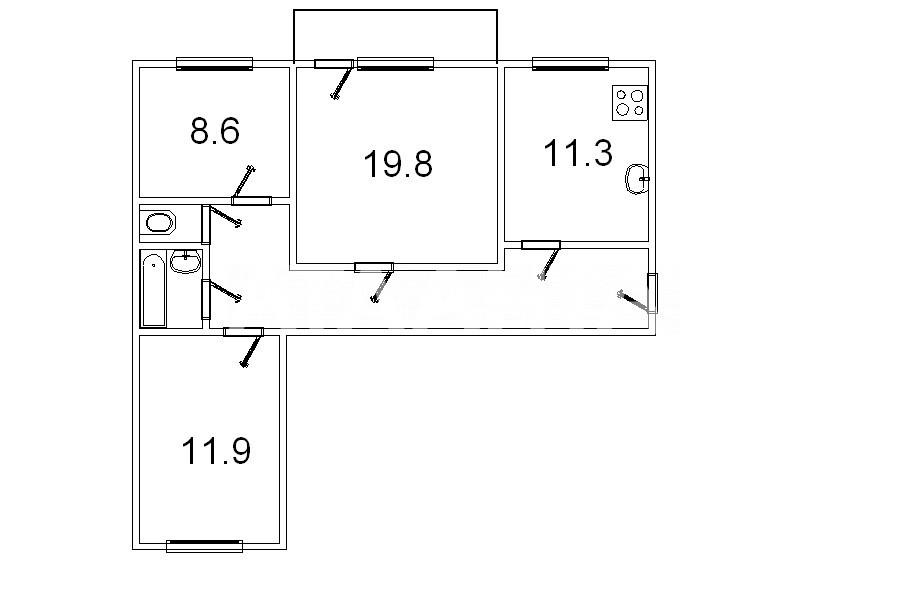Продается 3-комнатная Квартира на ул. Ул. Котарбинского — 107 000 у.е. (фото №24)