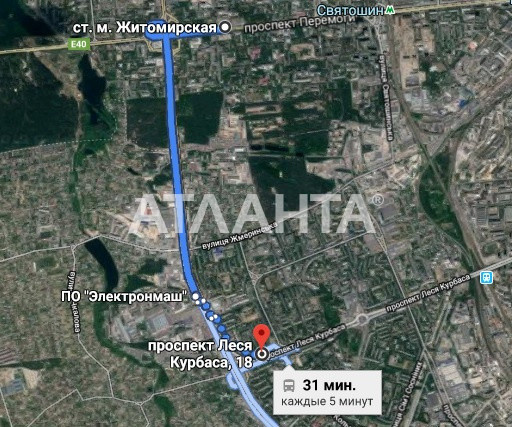 Продается 2-комнатная Квартира на ул. Просп. Леся Курбаса — 37 000 у.е. (фото №9)