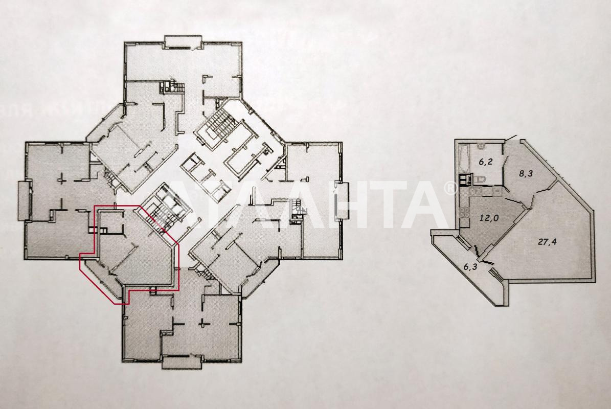 Продается 1-комнатная Квартира на ул. Ул. Мейтуса — 82 000 у.е. (фото №2)