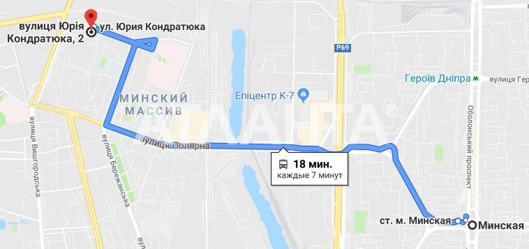 Продается 3-комнатная Квартира на ул. Ул. Юрия Кондратюка — 44 000 у.е. (фото №8)